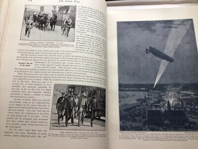£25 • Buy THE GREAT WAR VOLUMES 1-5 Edited By H W Wilson