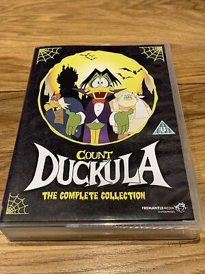 £39.99 • Buy Count Duckula The Complete Collection Series 1-3 UK DVD Boxset 1988-1993 Rare