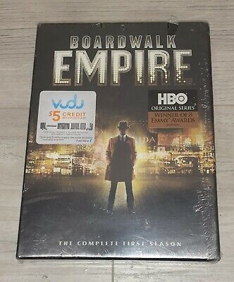£6.37 • Buy Boardwalk Empire: The Complete First Season (DVD, 2012, 5-Disc Set)  Sealed
