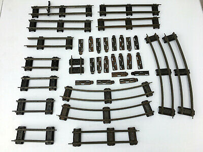 £10 • Buy Hornby O Gauge Track 15 Pieces And 20 Rail Joiners - Good Unboxed