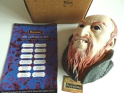 £20 • Buy BOSSONS Chalkware Heads Figure - FAGIN Charles Dickens Character - RARE BOXED