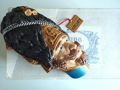 £35 • Buy BOSSONS Chalkware Heads GRENADIER MILITARY FIGURE - RARE BOXED WALL PLAQUE