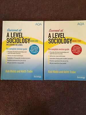 £10 • Buy AQA A Level & AS Level Sociology Revision Book 1 & 2