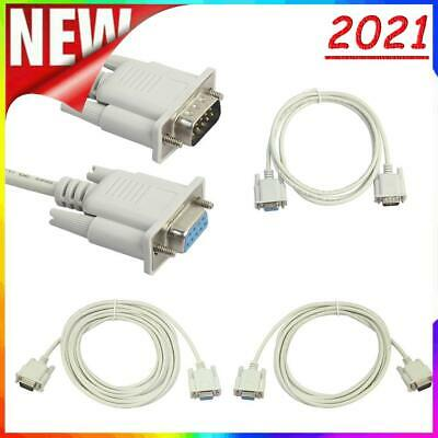 £3.15 • Buy Serial RS232 9-Pin Male To Female DB9 9-Pin PC Converter Extension Cable