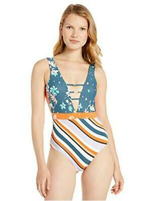 $31.17 • Buy Maaji Women's V Front With Scoop Back Classic Cut One, MultiColor, Size Medium