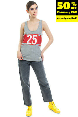 £0.99 • Buy FRANKLIN & MARSHALL Vest Top Size S Melange Coated '25' Raw Edges Made In Italy