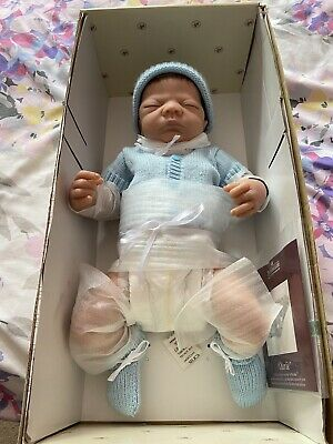 """£100 • Buy Ashton Drake Baby Doll """"Charlie"""" """"So Truly Real"""" Collection"""