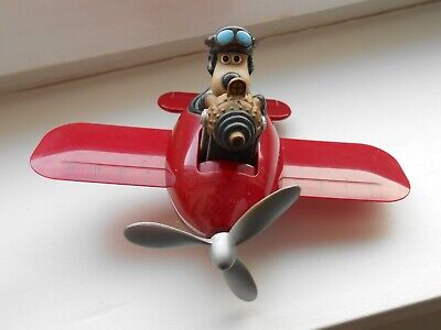 £9.99 • Buy Wallace And Gromit Desk Tidy Plane Vintage 1989