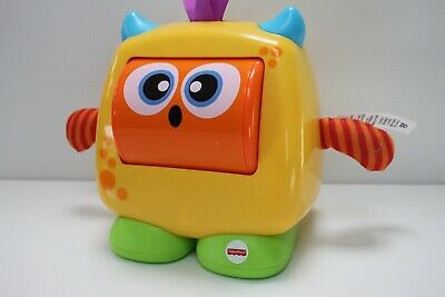 £9.99 • Buy Fisher-Price Fun Feelings Monster, Baby Toy With Rolling Emotions And Fun Sounds