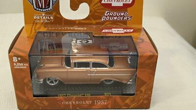 $ CDN18.66 • Buy M2 Machines Ground Pounders 1957 Chevrolet Copper 150  R21 21-03  New Chevy 1:64