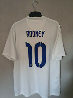 £29.99 • Buy Official England 2014/2015 World Cup Home Shirt Rooney #10 (Good) Size XL