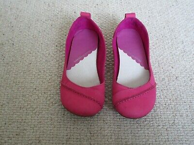 £39.99 • Buy Cerise Hush Puppies Janessa Flat Ballet Shoes Size 5 Exc Condition Free Post