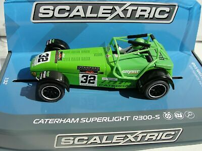 £27.99 • Buy Scalextric - C3871 Caterham Superlight R300-S Green Lee Wiggins - New & Boxed