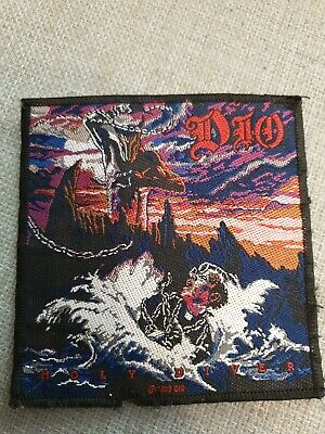 £4.99 • Buy Dio - Holy Diver Vintage Sew On Patch