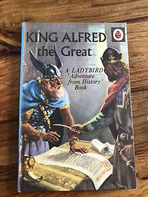 £4.99 • Buy VINTAGE BOOK: KING ALFRED THE GREAT (Ladybird Book) 15p Superb Condition