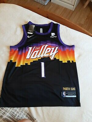 £13.99 • Buy NBA Inspired Phoenix Suns Basketball Vest Top Chest Size 45 ,  Booker No 1