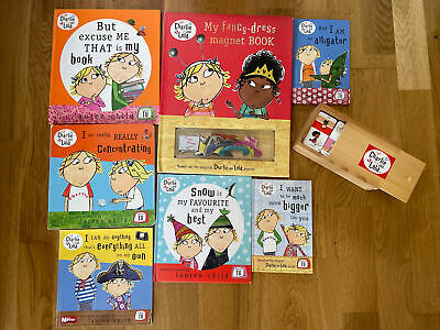 £11.99 • Buy 7 X Childs Charlie And Lola Books 1 Magnet Book + Domino