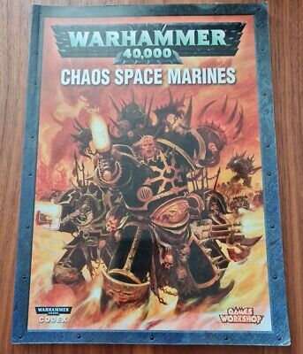 £9.99 • Buy Codex: Chaos Space Marines Warhammer 40k, 4th Edition, Softcover (2007)