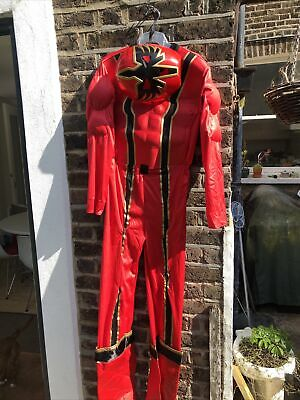 £9 • Buy Grown Up Adult Size Power Ranger Outfit Dressing Up With Mask Disney