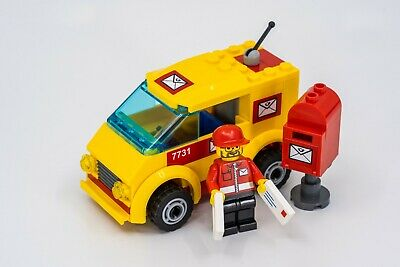 $27.98 • Buy LEGO City 7731 Mail Van 100% Complete W/ Minifig & Manual