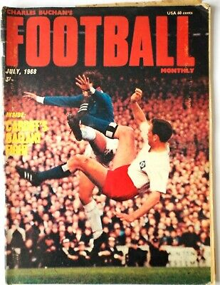 £2 • Buy July 1968  Charles Buchan's Football Monthly