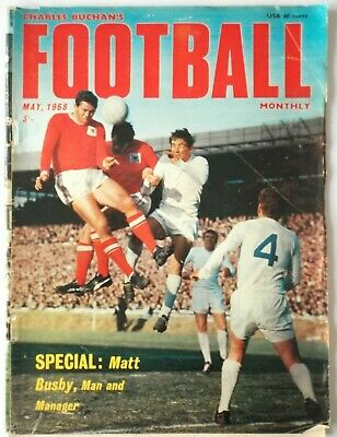 £2 • Buy May 1968  Charles Buchan's Football Monthly
