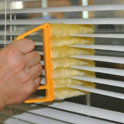 AU13.75 • Buy Microfiber Window Cleaning Brush Air Conditioner Dust Cleaner Washable Venetian