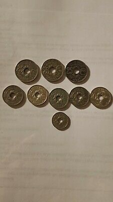 £5 • Buy 25,10,5 Centimes France 1920, 1930