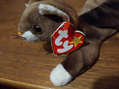 £0.99 • Buy Vintage Ty Beanie Babies Pounce The Cat 1997 Retired Good Used Condition