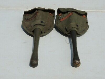 $137.50 • Buy Two Vietnam Era 1965 1966 Us Army Usmc Pick Shovels With M1956 Covers