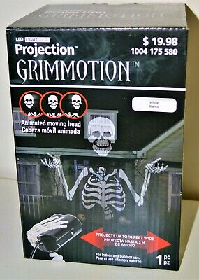 $ CDN18.21 • Buy Halloween Decoration Animation Prop Projection Grimmotion NEW  Haunted House DEC