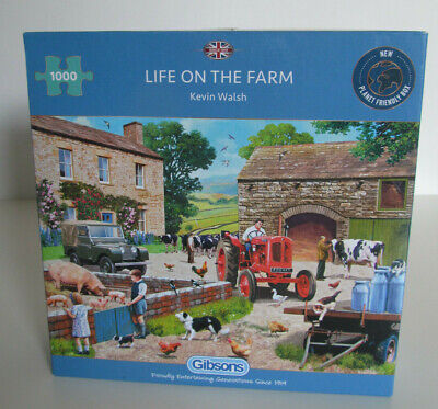 £5.99 • Buy Gibsons Puzzle 1000 Pieces: Life On The Farm