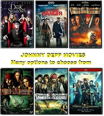 AU6.68 • Buy Johnny Depp Movies * Many Options To Choose From * READ DESCRIPTION !!!