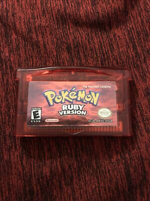 $88.45 • Buy Pokemon Ruby Version Authentic Cart Nintendo Gameboy Advance GBA Tested