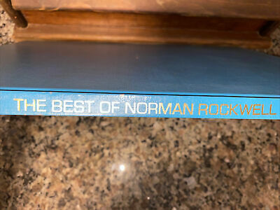 $ CDN24.71 • Buy The Best Of Norman Rockwell 40 Full Color Poster Book 1979 Ed - No Dust Cover