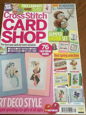 £5.99 • Buy Cross Stitch Card Shop Magazine Issue 71 No Gift Easter Art Deco Flowers Spring