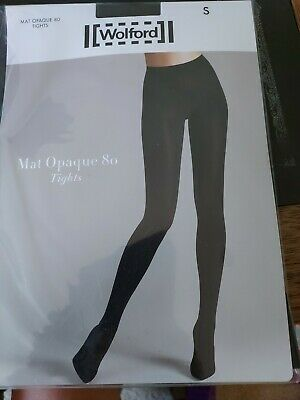 £5.50 • Buy Wolford Mat Opaque 80 Tights, Small, Black