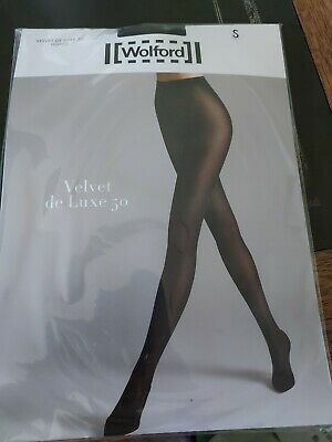 £5.20 • Buy Wolford Velvet De Luxe 50 Tights Opaque Tights, Small