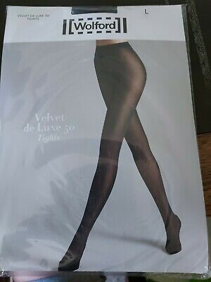£10.50 • Buy Wolford Velvet De Luxe 50 Tights Opaque Tights, Large