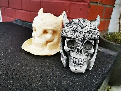 £11.50 • Buy Latex Mould Mold Only Of A Viking Skull.