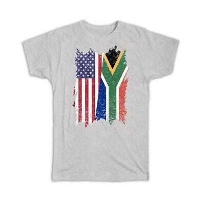£18.10 • Buy Gift T-Shirt : United States South Africa American African