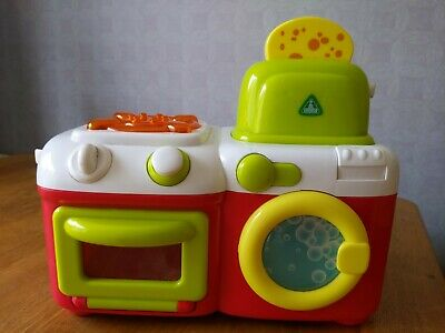 £4.50 • Buy Early Learning Centre Light/sound Mini Sizzling Kitchen, Washing Machine.Toaster