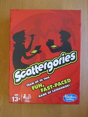 £8.99 • Buy Scattergories: Family Board Game By Hasbro (2013 Edition)