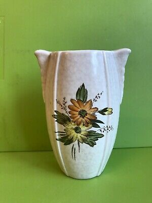 £3.25 • Buy Crown Devon Fieldings Small Urn Style Vase With  Flowers Decoration