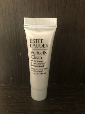 £5 • Buy Estee Lauder Perfectly Clean 7ml Multi Action Foam Cleanser/Purifying Mask