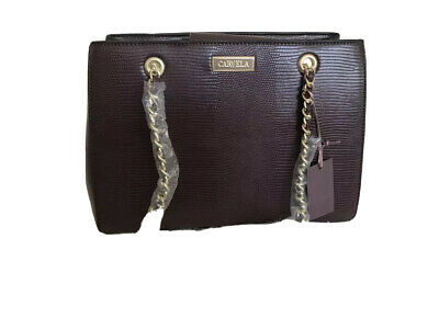 £39 • Buy Hurry Chain Handle Bag In Wine By Carvela