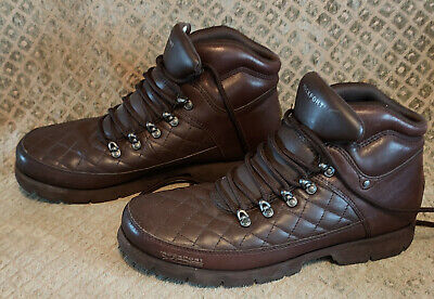 £28 • Buy Rockport XCS Male Boundary Ii Quilt Leather Upper Casual Boots  Size U.K 10