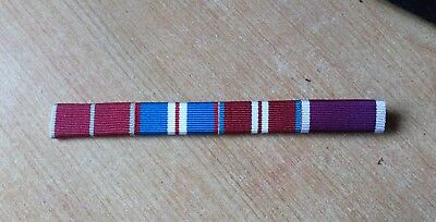 £4.15 • Buy MBE, Queen's Golden, Diamond Jubilee And Army LSGC Medal Bar. Sew On Type.
