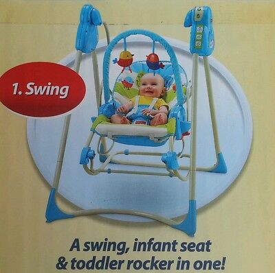 £88 • Buy Fisher Price, Swing, Rocker, Chair, Baby, Infant, Toddler, New Rrp £150