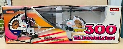 £19.99 • Buy Syma 300 Schweizer RC Remote Controlled Helicopter Model *Untested / Spares*
